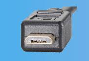 USB 2.0 Stecker Micro-B
