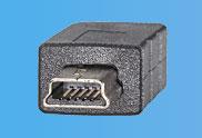 USB 2.0 Stecker Mini-B