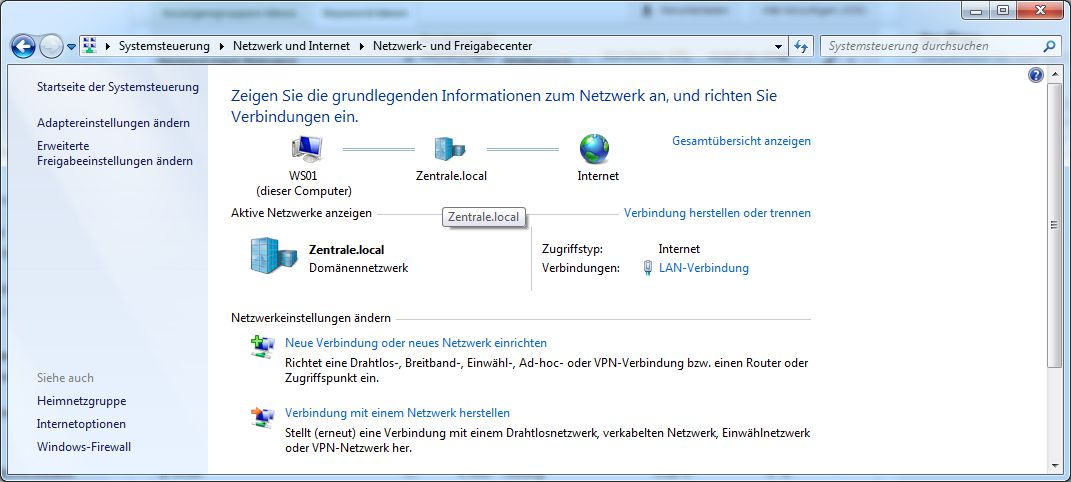 Netzwerkstatus
